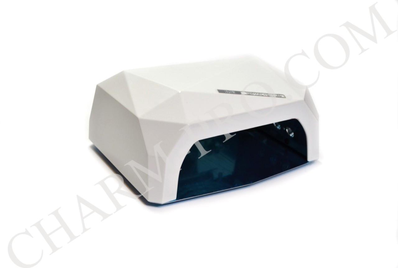 Маникюрная лампа LED+CCFL Diamond (Белая)