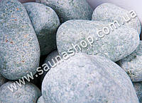 Жадеит шлифованный для бани, 10 кг. Green Stone