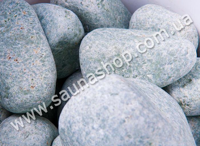 Жадеїт шліфований для лазні, 10 кг. Green Stone