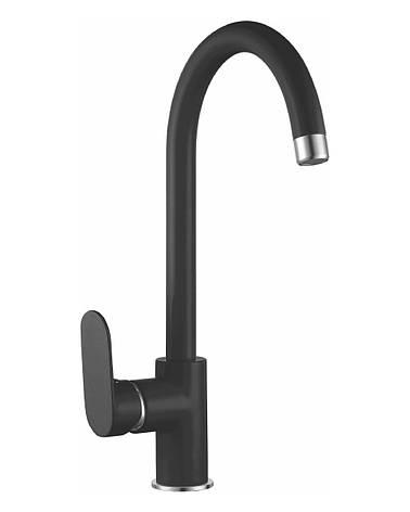 LASKA смеситель для кухни, черный, 35мм, фото 2