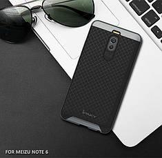Чехол Ipaky для Meizu M6 Note бампер оригинальный gray, фото 2