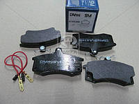 Колодки тормозные дисковые ВАЗ 2110 (с эл. датчиками износа) (пр-во Dafmi)