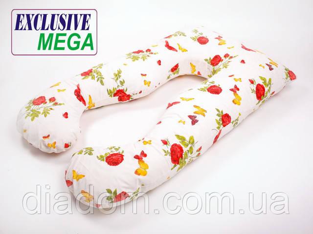 Подушка для беременных Mega Теплое Лето