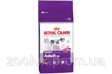 Royal Canin GIANT ADULT 4 КГ