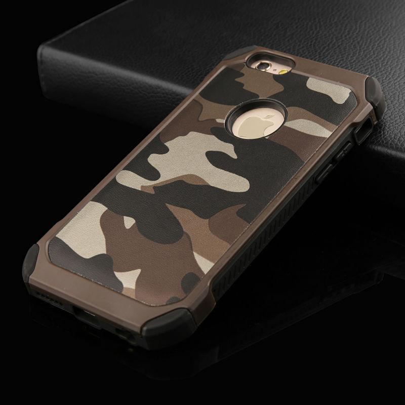 Чехол Military для iPhone 6 Plus / 6s Plus бампер оригинальный Brown