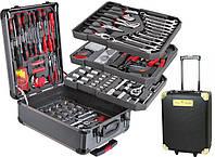 Профессиональный набор инструментов 356 предметов Kraftroyal Line Gold