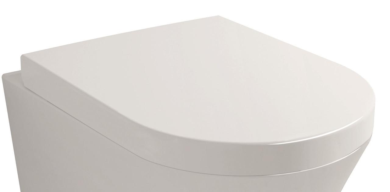 NEMO сиденье для унитаза твердое слоу-клоуз метал крепл. (исп)