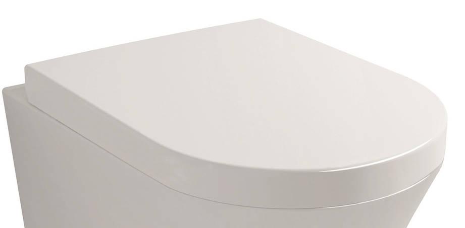 NEMO сиденье для унитаза твердое слоу-клоуз метал крепл. (исп), фото 2