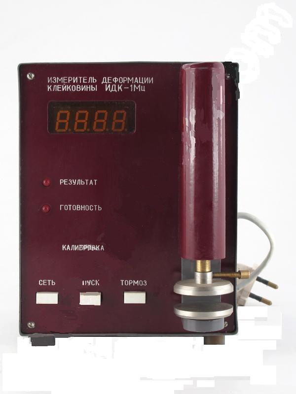 Измеритель деформации клейковины ИДК-1Мц