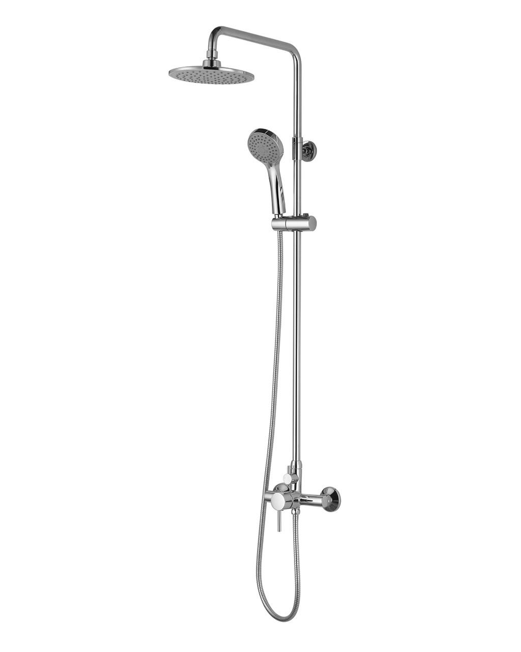 BILA SMEDA система душевая (смеситель для душа, верхний и ручной душ 3 режима, шланг 1,5м)
