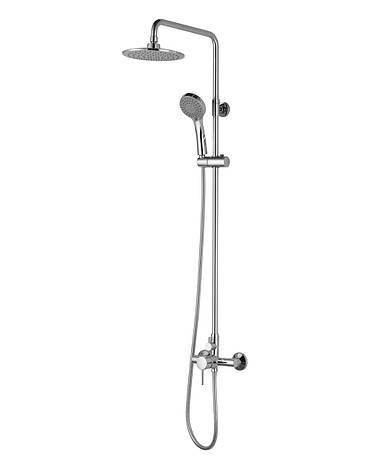 BILA SMEDA система душевая (смеситель для душа, верхний и ручной душ 3 режима, шланг 1,5м), фото 2