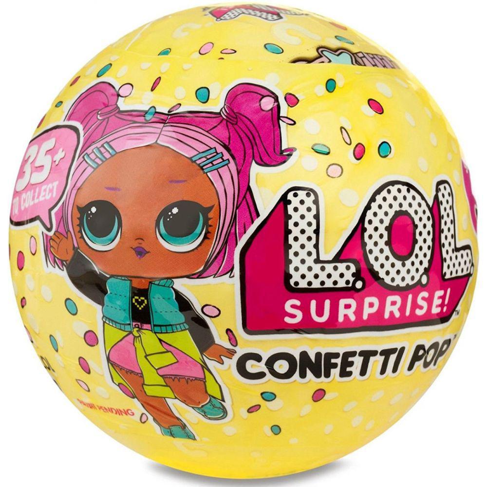 L.O.L. Surprise Confetti POP™ (3 сезон, 1 волна)  (ЛОЛ Сюрприз Конфетти) игровой набор - большой шар