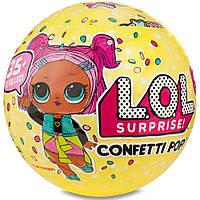 L.O.L. Surprise Confetti POP™ (3 сезон, 1 волна)  (ЛОЛ Сюрприз Конфетти) игровой набор - большой шар , фото 1