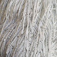 Шторы нити Белые Серебро / Дождь №1, фото 1