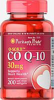 Коэнзим Q-SORB™ Co Q-10 30 mg, Puritan's Pride, 200 капсул