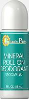 Дезодорант шариковый, Mineral Roll On Deodorant, Puritan's Pride