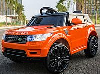 Детский электромобиль J 1737-W  Land Rover, EVA колеса, оранжевый ***