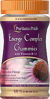 Энергетический комплекс с витамином В12, Puritan's Pride, 60 жевательных конфет, фото 1
