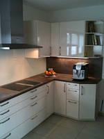 Стильная кухня с деревянной столешницой, фото 1