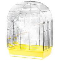 Клетка для попугаев Inter Zoo LUSI 3 цинк (54х34х75см)