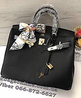91a6817a7241 Сумка люкс реплика Гермес натуральная кожа | сумка Hermes Birkin Черный