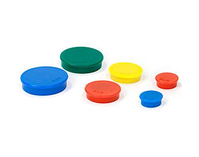 """Набір магнітів 20 мм х 10 шт. кольори асорті """"2х3"""""""