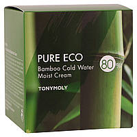 Tony Moly, Pure Eco, Bamboo Cold Water Moist Cream, 200 ml