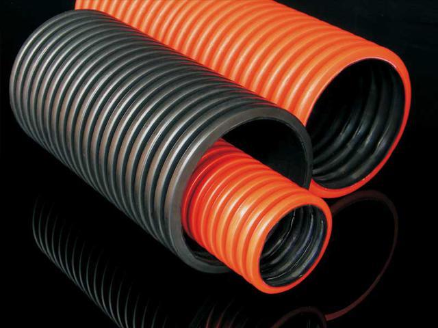 Двустенные гофрированные трубы для прокладки кабеля
