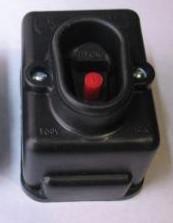 Кнопка пусковая  ПНВС 2 контакта