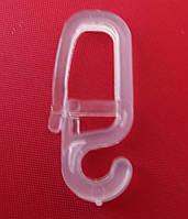 Крючок для карниза  кованый прозрачный
