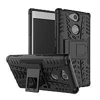 Чехол Sony XA2 / H4113 / H4133 / H3113 / H3123 / H3133 противоударный бампер черный