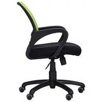Крісло Веб сидіння Сітка чорна, спинка Сітка салатова (AMF-ТМ), фото 3