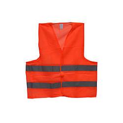 Жилет светоотражающий сигнальный Оранжевый XL