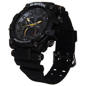 Часы мужские G-Shock protection с желтой стрелкой