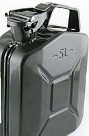 Каністра під ПММ 5л метал 240х 90х320мм сіра (уп.1/5)