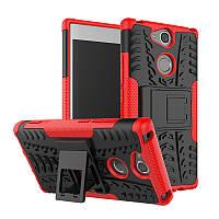 Чехол Sony XA2 / H4113 / H4133 / H3113 / H3123 / H3133 противоударный бампер красный