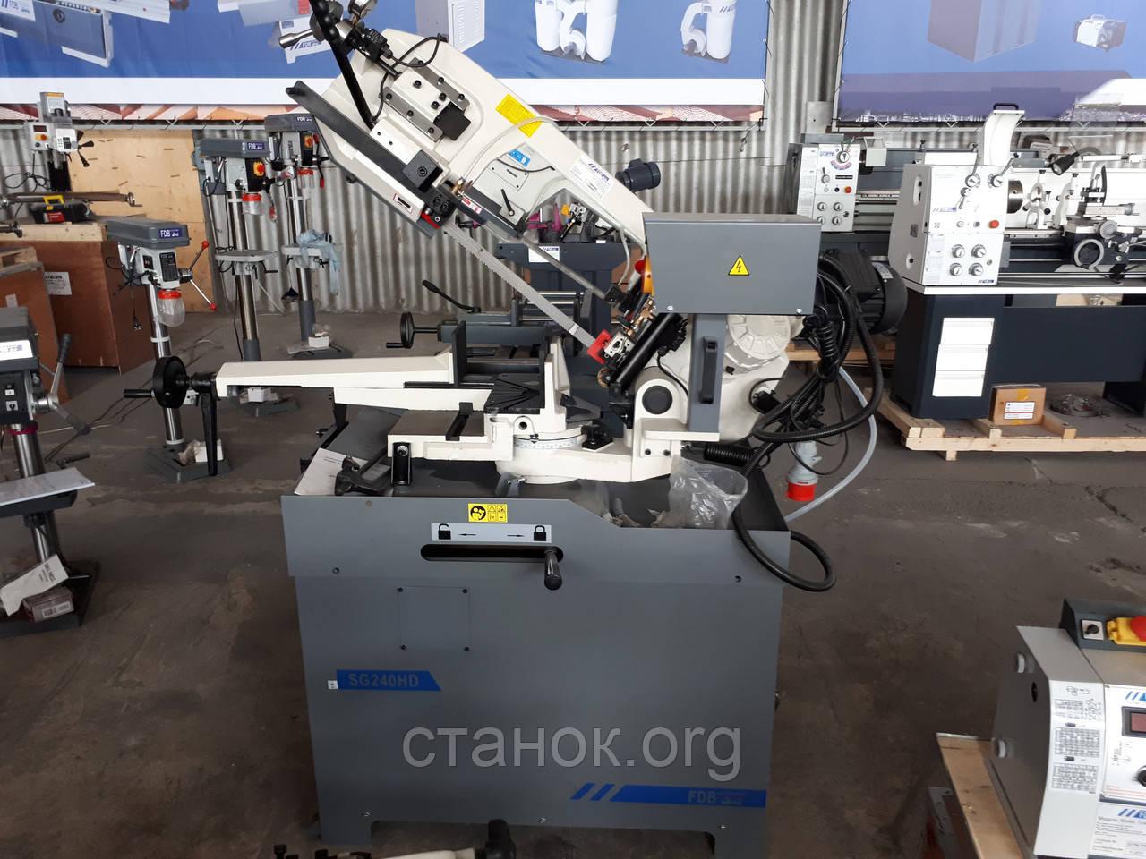 FDB Maschinen SG 240 HD Ленточная пила Ленточнопильный станок по металлу Отрезной фдб сг 240 машинен