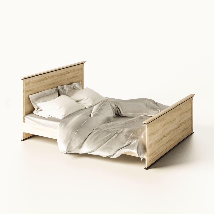 Двухспальная кровать 160 см Палермо Світ Меблів