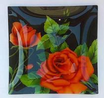 Набор блюд квадратных Розовые бутоны Noritazeh Royal Set 1+6