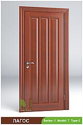 Двері міжкімнатні з масиву Лагос