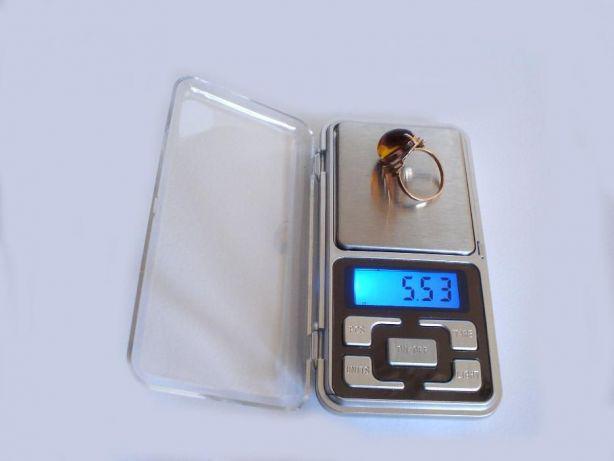 Карманные цифровые весы 001