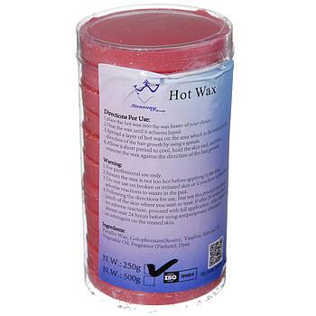 Воск для депиляции в таблетках Konsung Beauty 250 г Красный