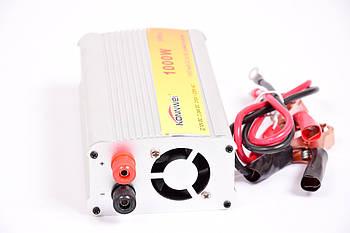 Инвертор преобразователь Konnwei с 12 на 220 вольт 1000W