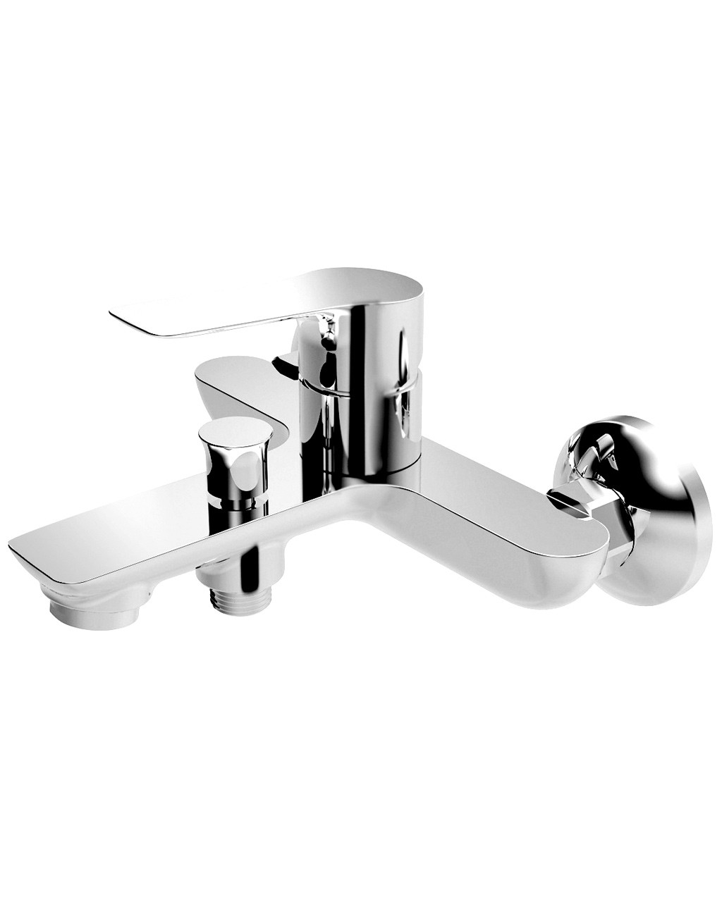 KUCERA смеситель для ванны, хром 35мм