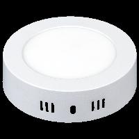 Светодиодный накладной светильник Ilumia 6Вт, 115мм, 4000К (нейтральный белый), 450Лм (035)