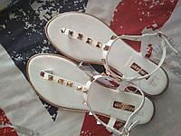 Женские сандалии вьетнамки с заклепками, Англия.  в наличии 37 38, фото 1