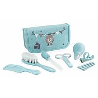 Набор по уходу за малышом Babykit в косметичке, Miniland Baby цвет голубой, 7 предметов