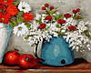 """Картина по номерам """"Цветы и гранаты"""""""