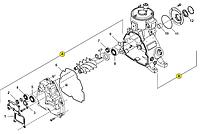 Ремкомплект блока Rotorcomp NK-40 113913 сальник