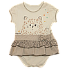 Детское боди с имитацией юбочки BEBEMANIA 68р. BM 8452)